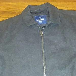 Old Navy Wool Blend Zipper Coat Fully Lined size M